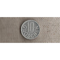 Австрия 10 грошей 1984/(En)