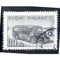 Финляндия.Ми-330. Почтовый автобус. 1947.