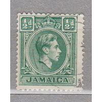Ямайка известные люди Король Георг VI  1938г лот 2