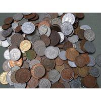 Монеты сборный лот 205 штук