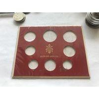 Ватикан обложка под набор монет 1969