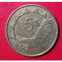 24-15 Намибия, 5 долларов 1993 г.