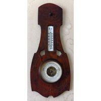 Старинный немецкий барометр