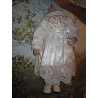 Кукла .Тело для куклы . Фарфор . 55 см.