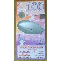 Нов. о-ва Джейсона 100 аустралес 2012 -UNC-