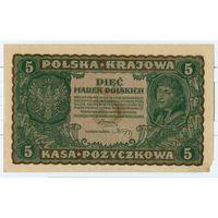 Польша 5 марок 1919 г.