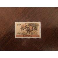 Танзания 1985 Жираф