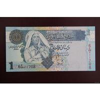 Ливия 1 динар 2004 UNC