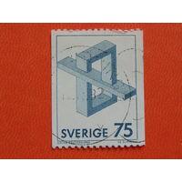 Швеция 1982г. Искусство.