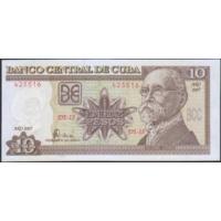 10 песо 2007г. UNC