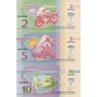 Венда Набор 6 банкнот 2015 UNC