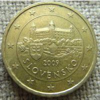 10 евроцентов 2009 Словакия