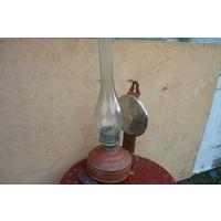 Керосиновая лампа на стенная