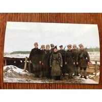 Слуцкі Збройны Чын - каляровая паштоўка /открытка, Слуцк, Гражданская война