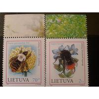 Литва 1999 шмели