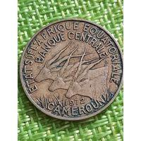 Камерун 10 франков 1972