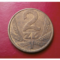 2 злотых 1988 Польша #04