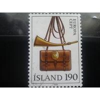 Исландия 1979 Европа