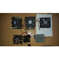 Радиаторы от материнских плат компьютеров, верхние по 9р, нижние по 5р.