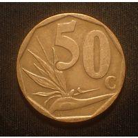 Южная Африка. ЮАР. 50 центов 2012 год