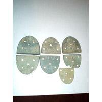 Каблуки-подковы латунные женские ПМВ 1.цена за все