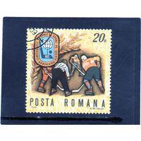Румыния. Mi:RO 2820. Хоккей. Чемпионат мира в группе В,С. Румыния.1970.