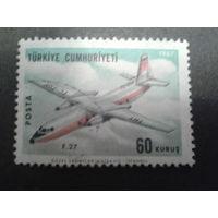 Турция 1967 самолет