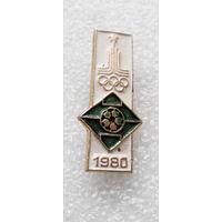 Значок. Олимпиада 1980 года. Футбол #0367