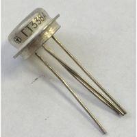 ГТ338А ((цена за 2 шт)) Лавинный германиевый транзистор. Негатрон. Биполярный диффузионно-сплавный, p-n-p ГТ338