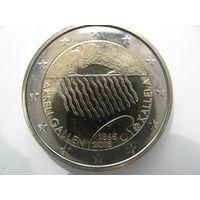 Финляндия 2 евро 2015 г. 150 лет со дня рождения Аксели Галлен-Каллелы. (юбилейная) UNC!