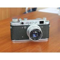 Фотоаппарат ФЭД-2, в отличном состоянии, 1957 г.