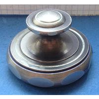 Футляр металлический для печати, завинчивающийся