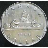 Канада 1 доллар 1968 (256)