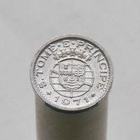 Португальская Сан-Томе и Принсипи 10 центавос 1971