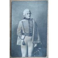 Дореволюционное фото известного актера Юрия Юрьева. До 1917 г.Клеймо фотографии.