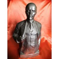 Ленин, силумин. Теплов 1977. 30см
