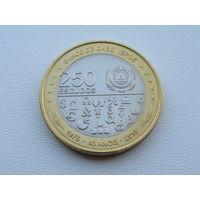 "Кабо - Верде.  250 эскудо 2015 год  ""40 лет  Независимости""  KM#55"