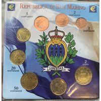 Набор монет Сан-Марино.