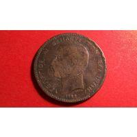 10 лепта 1882. Греция.