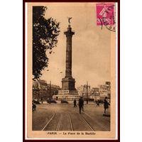 PARIS ~ Площадь Бастилии ~ 1934 год ~