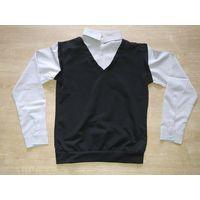 Новая рубашка обманка на рост 146-152