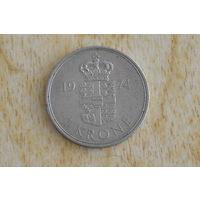 Дания 1 крона 1974