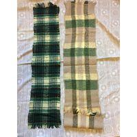 Шарф шарфы СССР Шерсть 70-80е гг Продаются два вместе