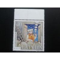 Латвия 2001 иллюстрация к книге