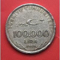 76-29 Турция, 100000 лир 1999 г.