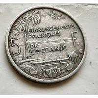 Французская Океания 5 франков, 1952 3-1-18