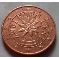 2 евроцента, Австрия 2008 г.