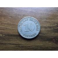 Германия 10 пфеннигов 1912 A (2)