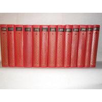 Дюма Александр. Собрание сочинений в 12-ти томах (комплект) + т.13 (самодельный переплёт). Библиотечный фонд.