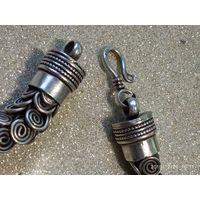 Старинный шикарный браслет.RRR серебро